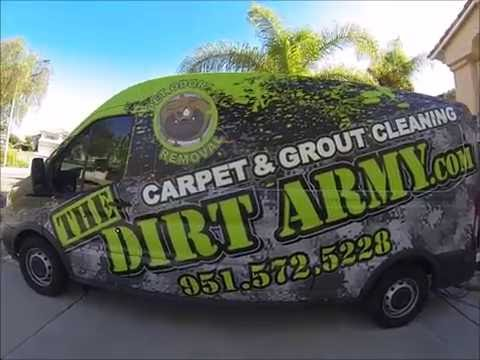 The Dirt Army Carpet & Tile Cleaning - YouTube