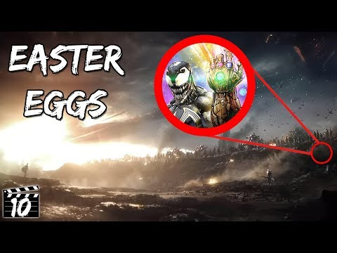 Top 10 Avengers: Endgame Easter Eggs You Missed - Part 2