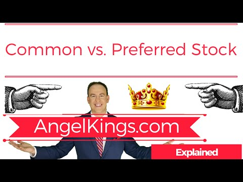 preferred stock versus common stock When you hear someone talking about investing in stocks, he or she is usually referring to investing in common stocks however, companies offer two classes of stock: common and preferred.
