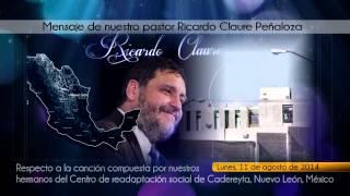 """RICARDO CLAURE PEÑALOZA (PASTOR): MENSAJE RESPECTO A LA CANCIÓN """"DESDE TIERRA LEJANA"""""""