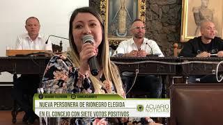 Nueva personera de Rionegro elegida en el Concejo con siete votos positivos