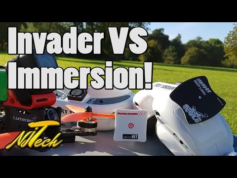 Menace RC Invader 5.8ghz mini-patch Review