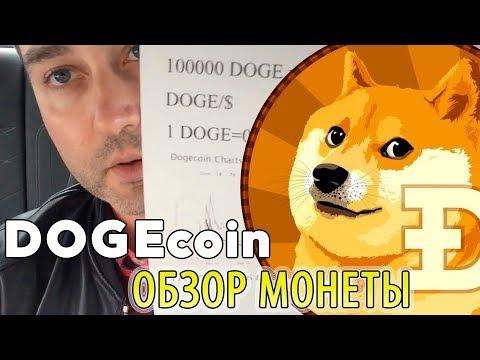 DOGECOIN - обзор монеты. Что такое криптовалюта DOGE.