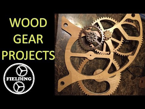 07: Wooden Gear Project Ideas You Can Make With A Band Saw or Scroll Saw