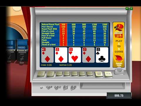 Игровой автомат DEUCES WILD играть бесплатно и без регистрации онлайн