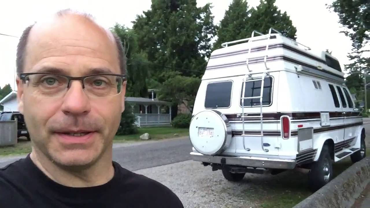 Stealth Urban Rv Camping First Night Youtube