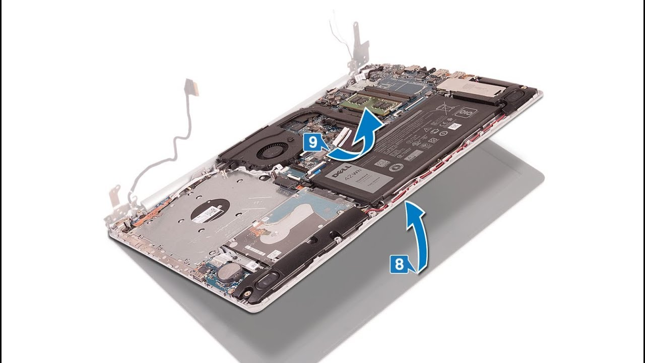 How to disassemble Dell Inspiron 5570