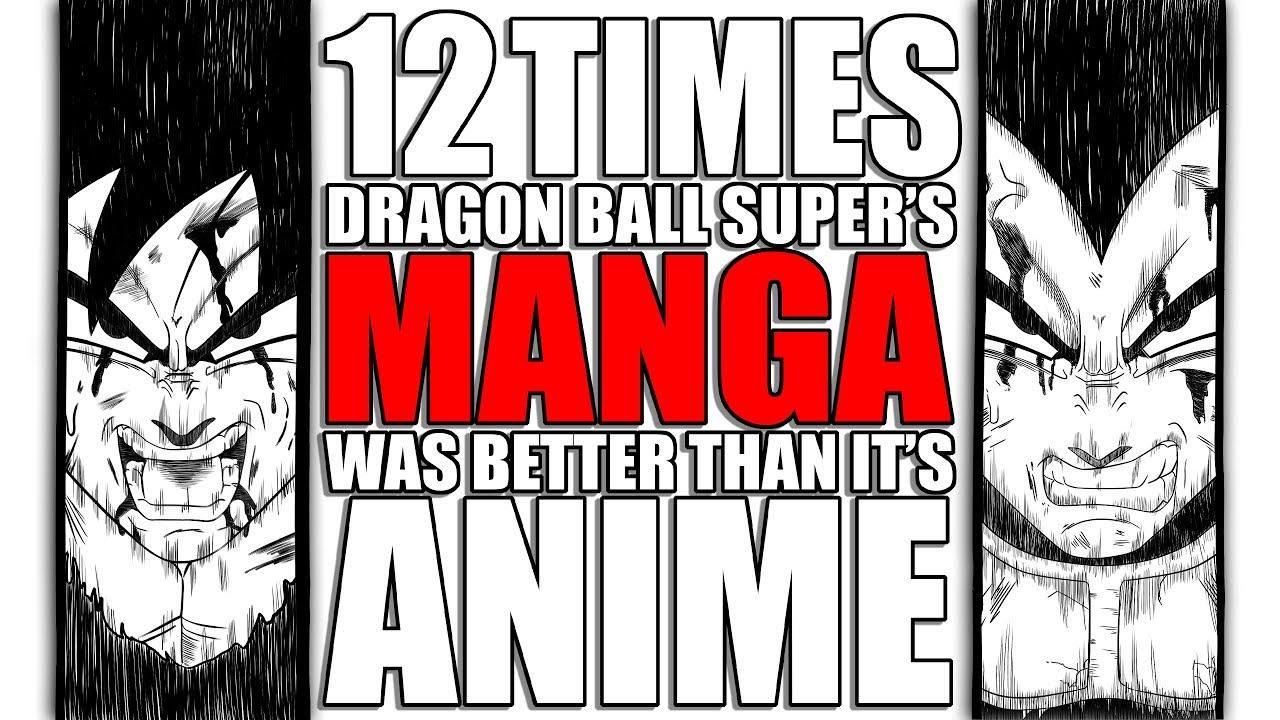 12 Times Dragon Ball Super's MANGA was Better than its ANIME
