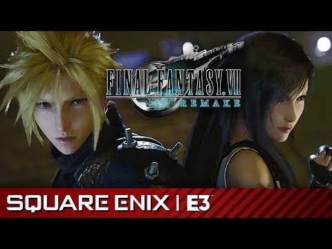 Final Fantasy VII Remake Full Gameplay Premiere Presentation | Square Enix E3 2019
