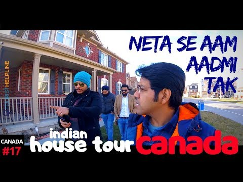 INDIANS IN CANADA - House Tour | Gurudwara | Politics