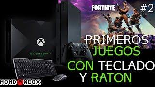 Fortnite con Teclado y Ratón en Xbox One, sus primeros juegos #2 Fortnite |MondoXbox