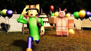 HORROR PORTALS... HAPPY BIRTHDAY ISABELLA (Play As Camping Baldi) | Roblox Camping