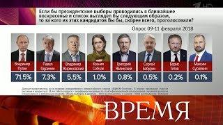 До выборов президента России остается ровно месяц - стартовала агитация в СМИ.
