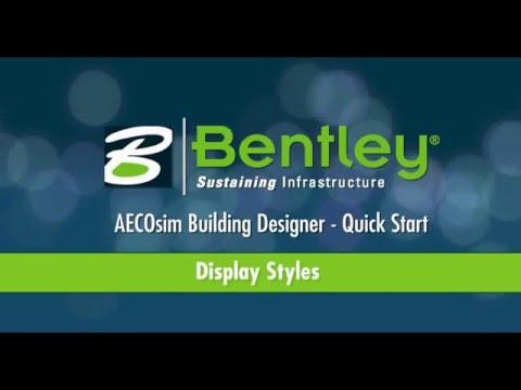 AECOsim Building Designer   A07   Display Styles