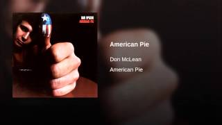 Repeat youtube video American Pie