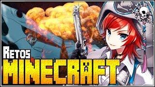 Tocado y hundido | Retos Minecraft