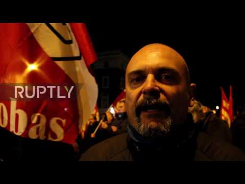 Italy: Protesters denounce Germany's 'interference' in referendum debate