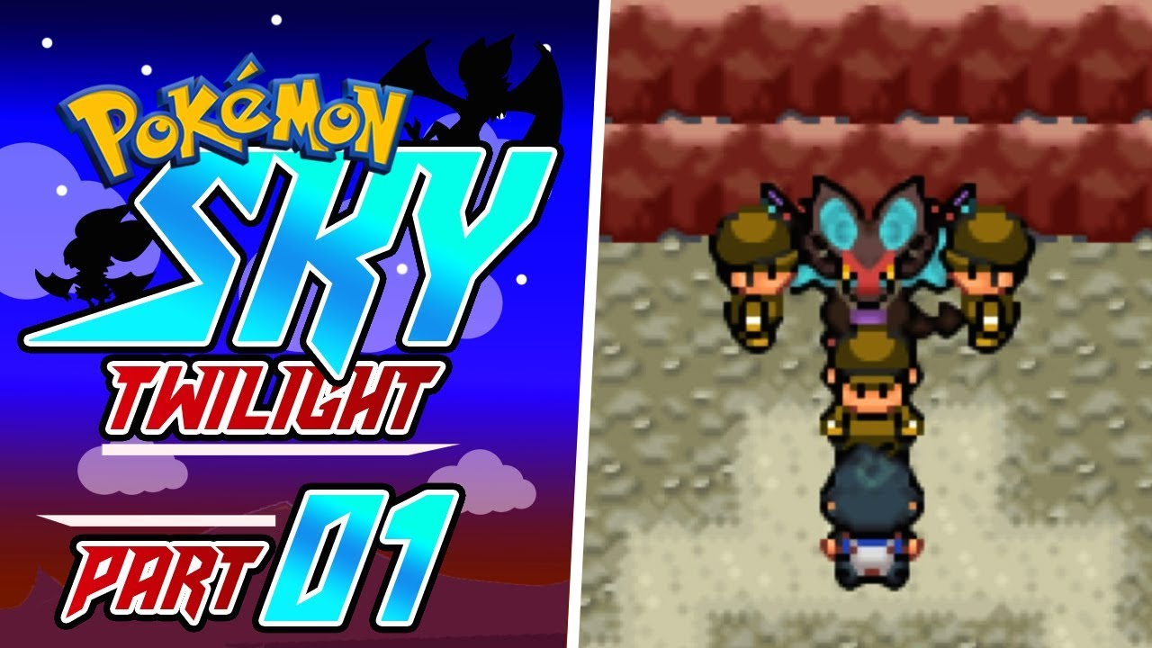 Pokemon Sky Twilight Part 1 A RARE POKEMON! GBA Rom Hack Gameplay  Walkthrough