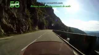 Roadbook moto Vosges : La route des Ballons