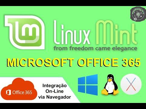 🔴 Acessando o Microsoft Office 365 OnLine no Linux Mint 17 2