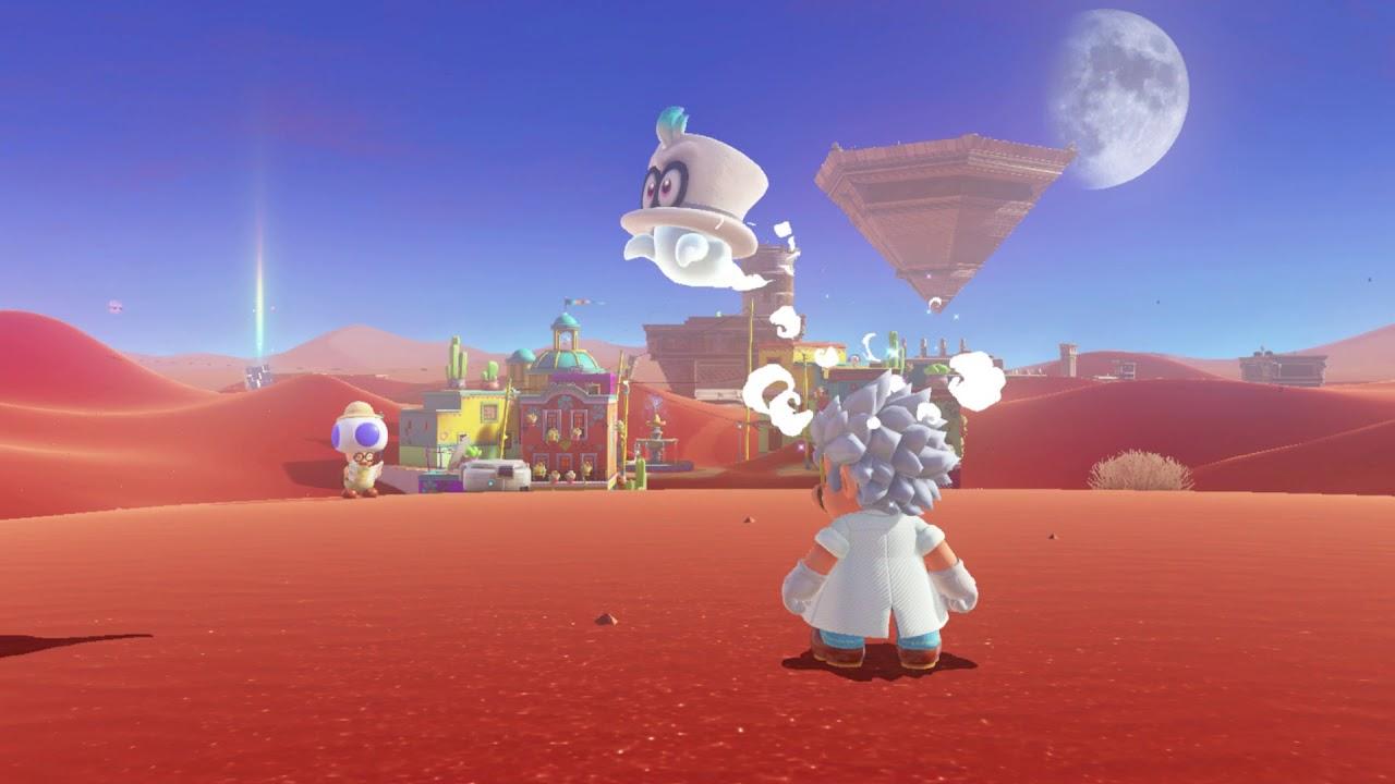 Super Mario Odyssey Bowser S Kingdom Moon 45 Found With