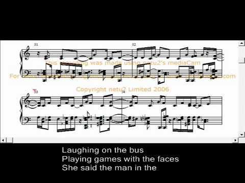 America Improvisation With Musical Notation and Lyrics