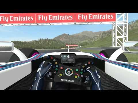 F1 Virtual Championship - Simracingmania - Qualifying lap @ A1 Ring [Round 8]