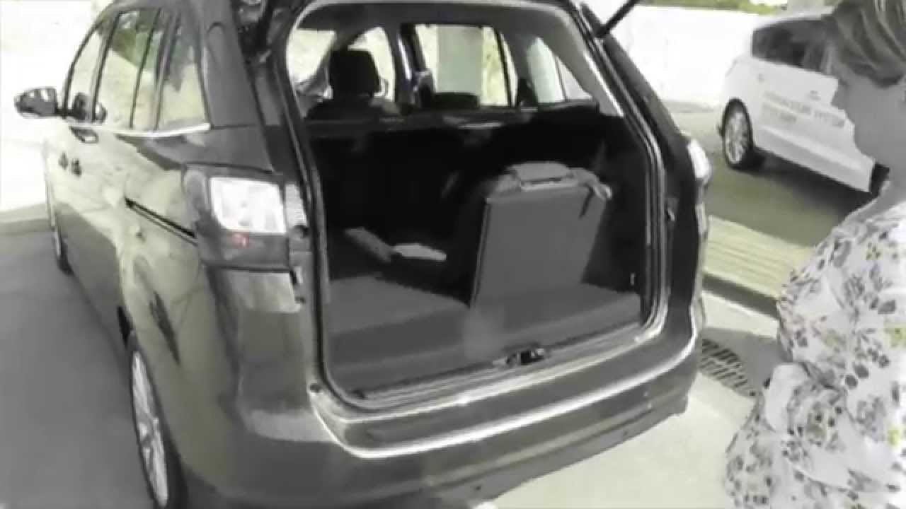 im test der ford grand c max youtube. Black Bedroom Furniture Sets. Home Design Ideas