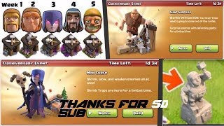 clash of clans August update where builder left tnx for 50 sub