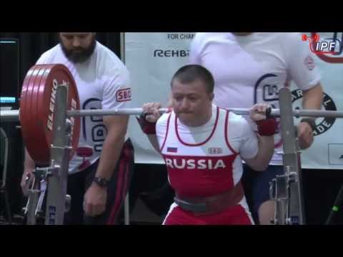 SERGEY FEDOSIENKO | 2016 IPF OPEN RAW WORLD CHAMPIONSHIPS | (6/24/2016)
