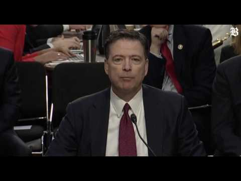 James Comey on Russian interference in US elections
