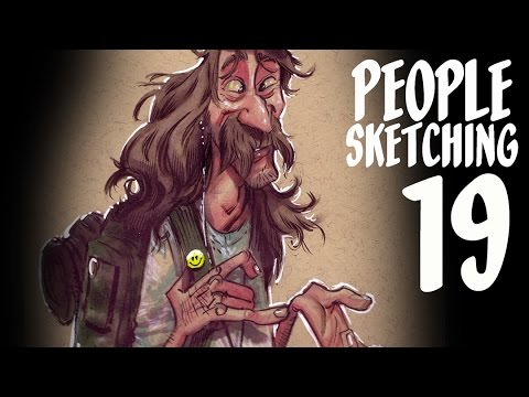 Living to your fullest potential - people sketching episode 19