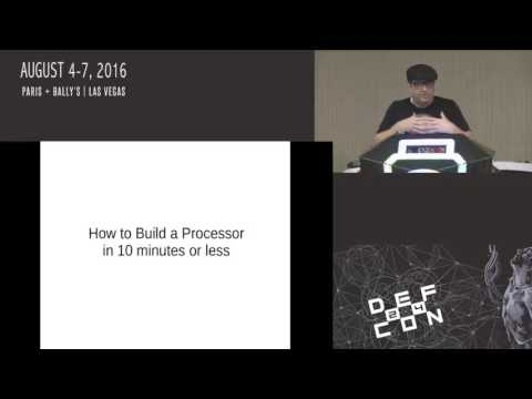 DEF CON 24 - Hacker Fundamentals and Cutting Through Abstraction