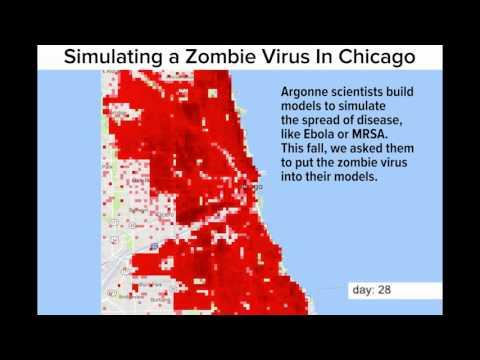 Argonne simulates zombie virus outbreak