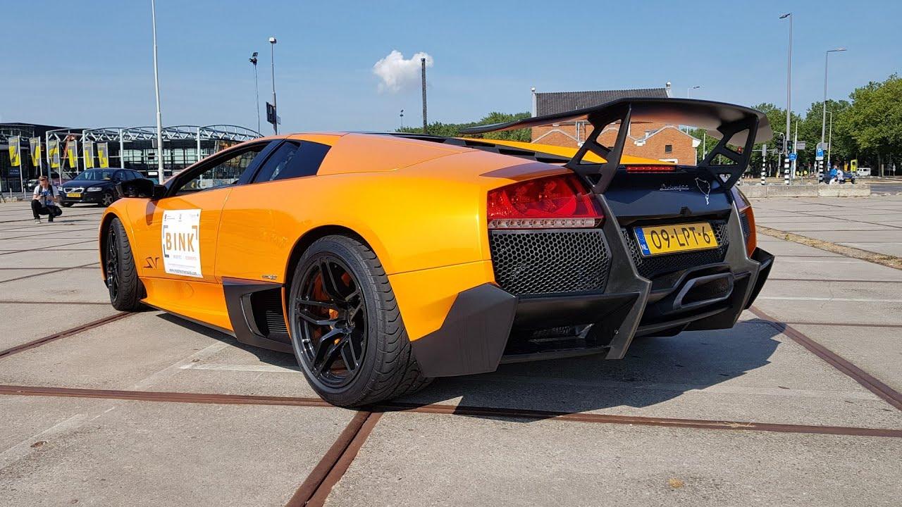 Lamborghini Murcielago LP670,4 SV \u0026 LP750,4 SV , Lovely V12 Engine SOUNDS!