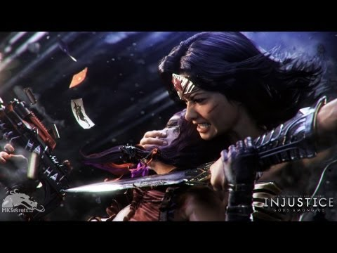 Injustice Gods Among Us - S.T.A.R LABS Wonder Woman - ☆☆☆ COMPLETE