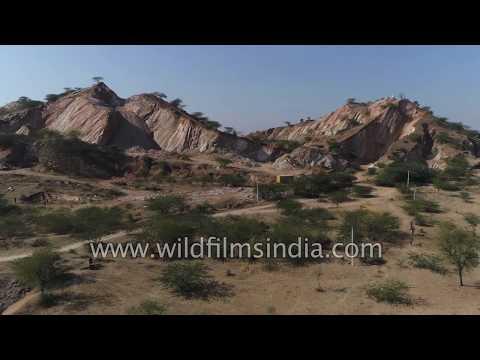 Aravalli Stone Mining Continues In Rajasthan
