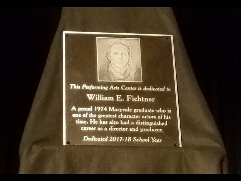 Behind the Camera Covers Bill E. Fichtner Maryvale HS Dedication