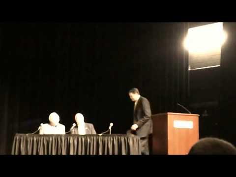 20131004 - Hickory Mayoral Candidate Debate - Lenoir Rhyne - Part 1