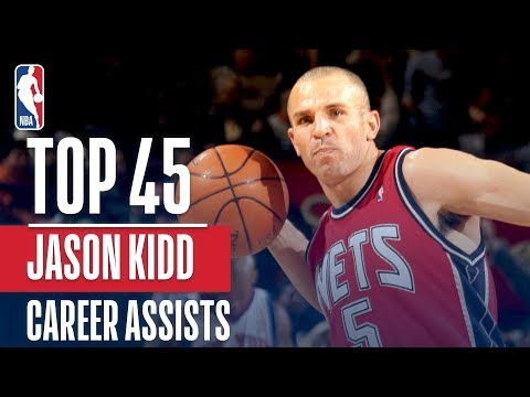 Jason Kidd's Top 45 Assists!
