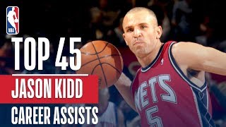Jason Kidd\'s Top 45 Assists!