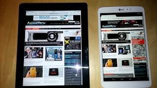 iPad 4 is slower than dirt. Android, fast as hell, even on 2 year old chips.