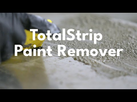 Using TotalStrip Paint Remover