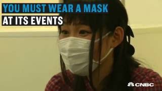 Speed dating in a surgical mask | CNBC International