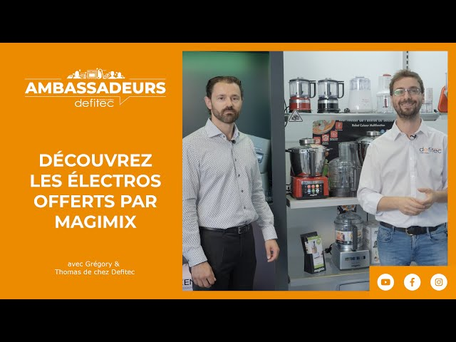 Présentation du Cook Expert offert par #MAGIMIX à nos Ambassadeurs de marque