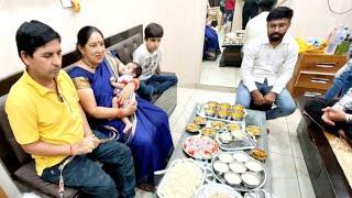 Dinner with sourav joshi family♥️