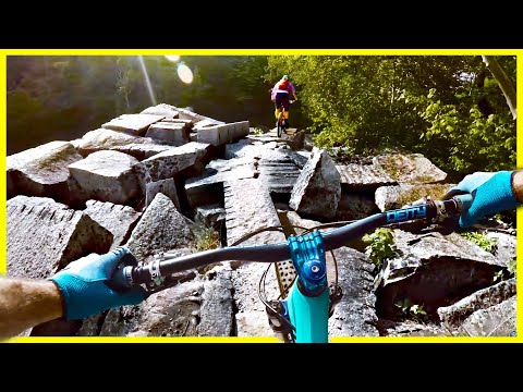 BIKE TRAIL OR GRAVEYARD?! Millstone MTB Trails Barre Vermont | NES Ep. #10