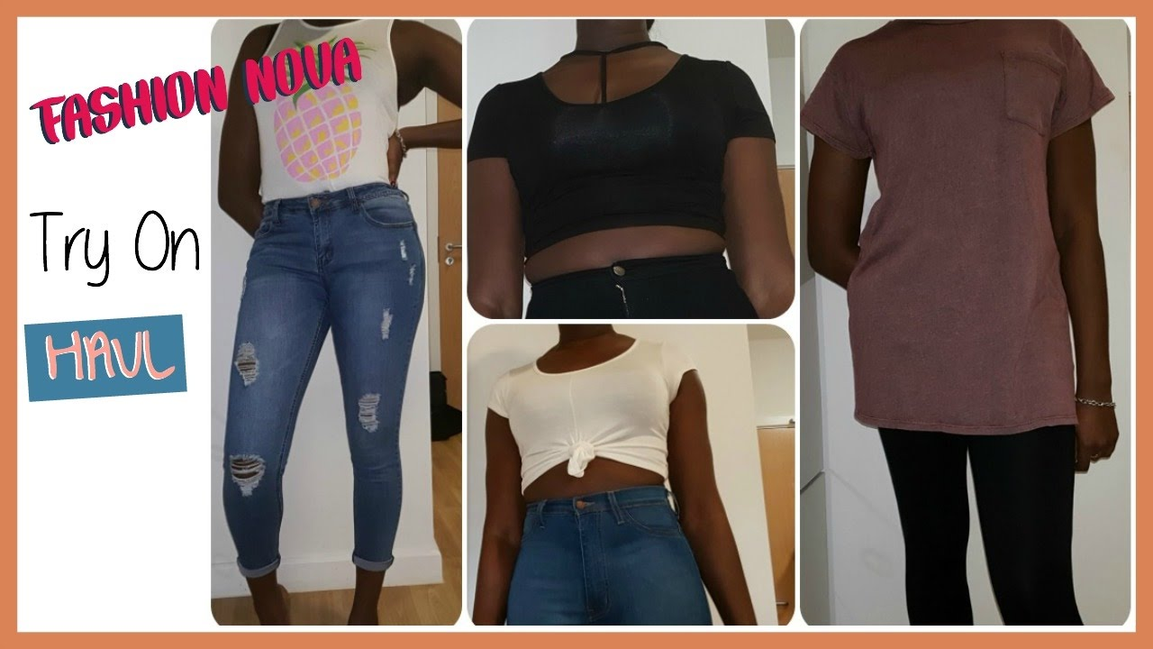 Fashion Nova Try On Haul   UK Shipping   Tall Girl Friendly   YouTube