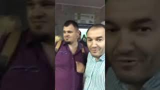 Зеленський та Годунок перед нарадою в Бориспільській міськраді