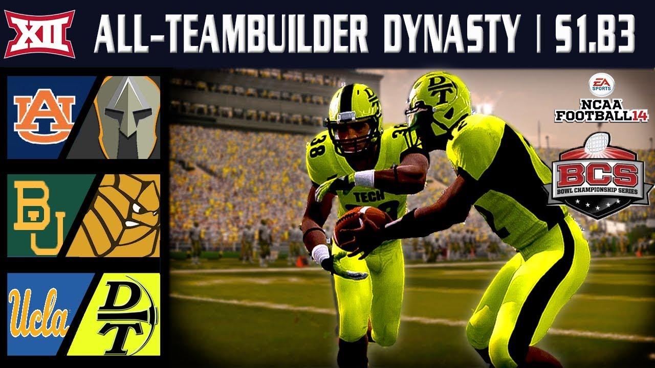 NATIONAL CHAMPIONSHIP GAME!!! - NCAA Football 14 | Big 12 ...